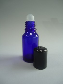 frasco roll-on 15 ml azul cobalto9